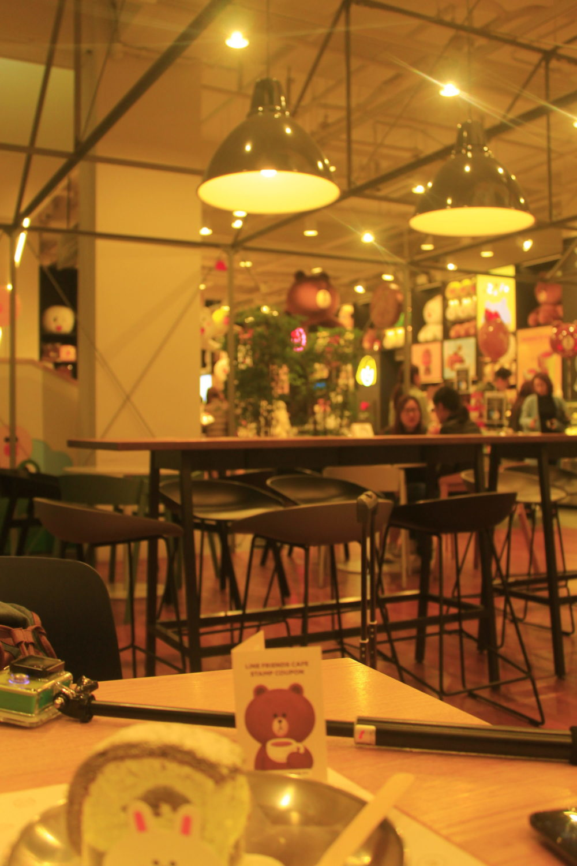 Seoul Day 1 – Line Merch. and Cafe (Liburan di Korea Selatan)