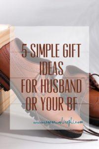 Ide Kado Untuk Suami Dont Fit Just Be